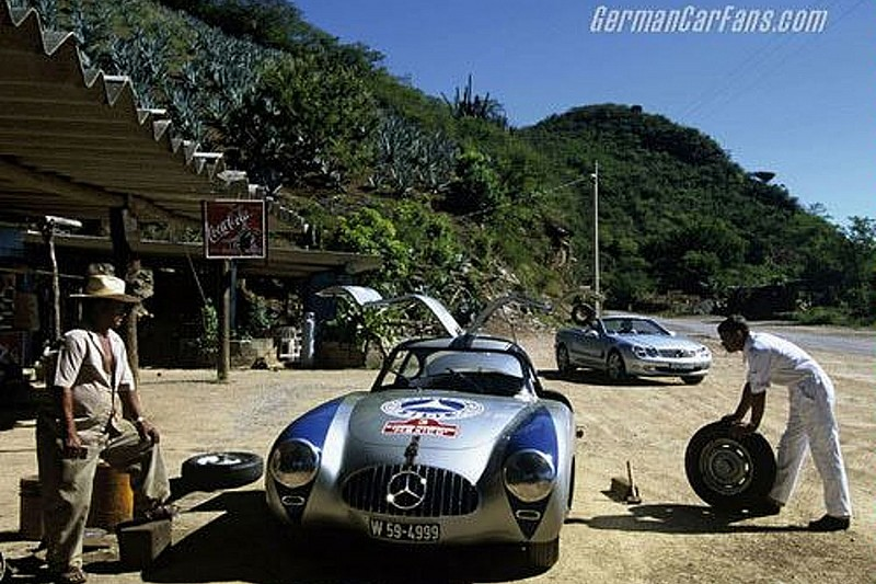 MB Revisits Carrera Panamericana Rally 50 Years Ago