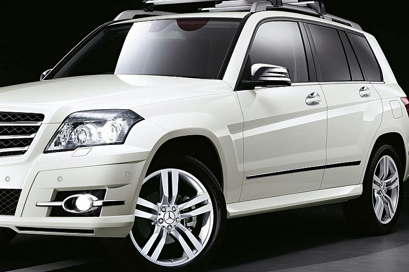 mercedes benz glk genuine accessories in monochrome wcf
