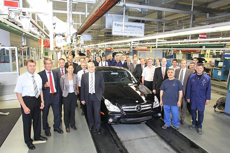 Last Mercedes CLS comes off the line