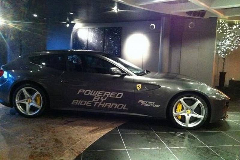 Ferrari FF with bio-ethanol E85 conversion produces 875bhp