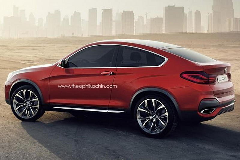 BMW X4 Coupe gets rendered