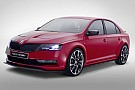 Skoda Rapid Sport concept in new official photos