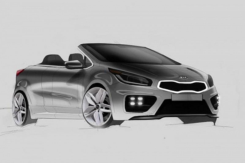 Kia pro_cee'd GT Cabrio digitally imagined