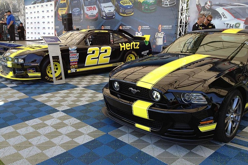 Hertz and Penske Racing unveil special edition Mustang GT