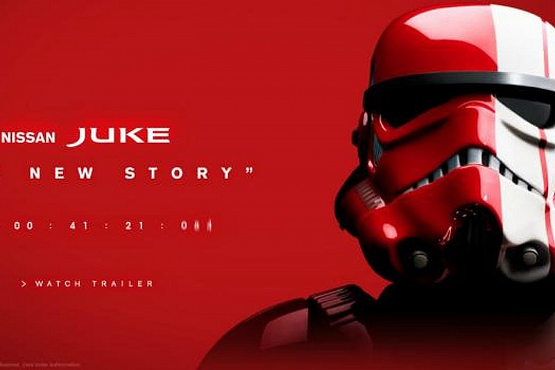 Nissan teases a Juke Star Wars Edition [video]