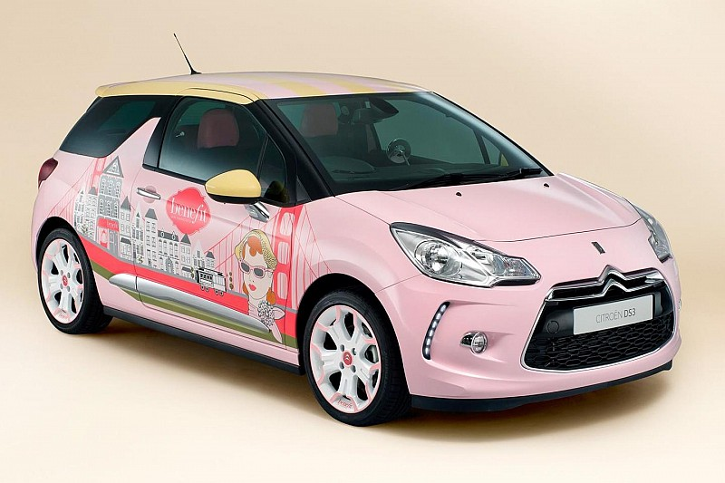 Citroen and Benefit Cosmetics join forces for an overly girly DS3 concept