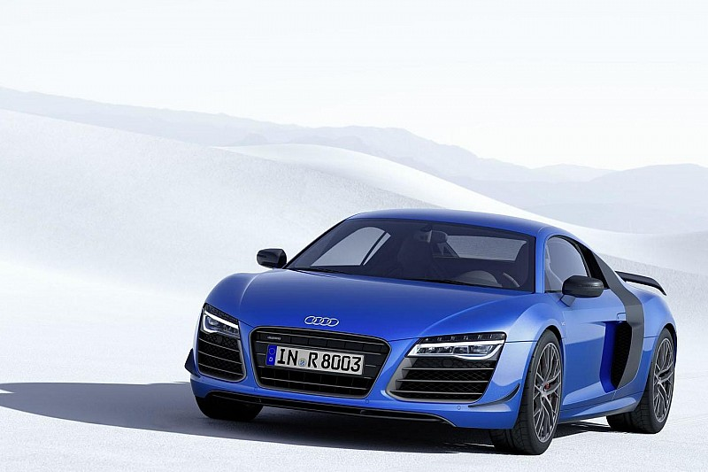 Audi R8 LMX unveiled with laser headlights
