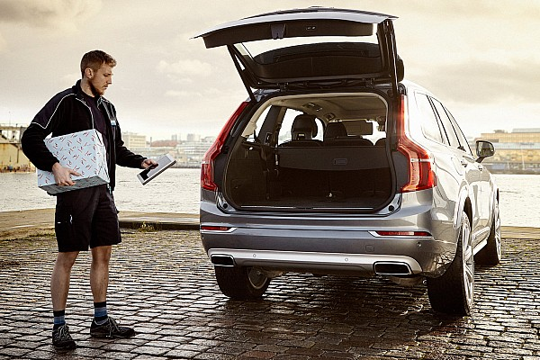 Volvo launches new in-car delivery service [video]