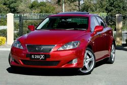 Lexus IS 250 X limited edition for Australia