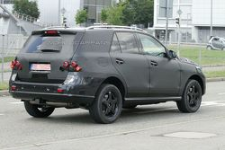 2012 Mercedes-Benz ML-Class first prototype spy photos
