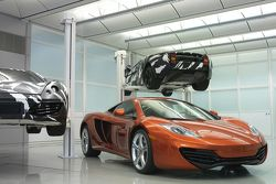 McLaren MP4-12C with XP development car