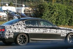 BMW M5 F10 spy photo