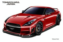 Nissan R35 GT-R by TommyKaira - vibrant red - 800