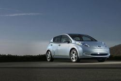 2011 Nissan Leaf Electric Vehicle 31.03.2010