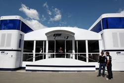 Williams hospitality motorhome, Spanish Grand Prix, 06.05.2010 Barcelona, Spain
