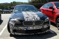 BMW M5 F10 spy photo, Barcelona, Spain 09.08.2010