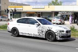 2012 BMW M5 F10 spy photo