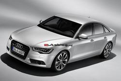 Official 2012 Audi A6 photos leaked