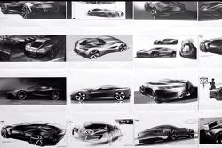 2014 Chevrolet Corvette teaser renderings 15.11.2012