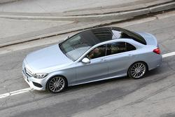 2014 Mercedes-Benz C-Class spy photo