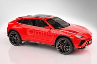 2018 Lamborghini Urus rendered based on the concept