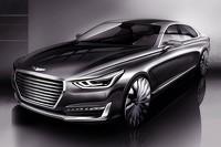 Hyundai G90 teaser
