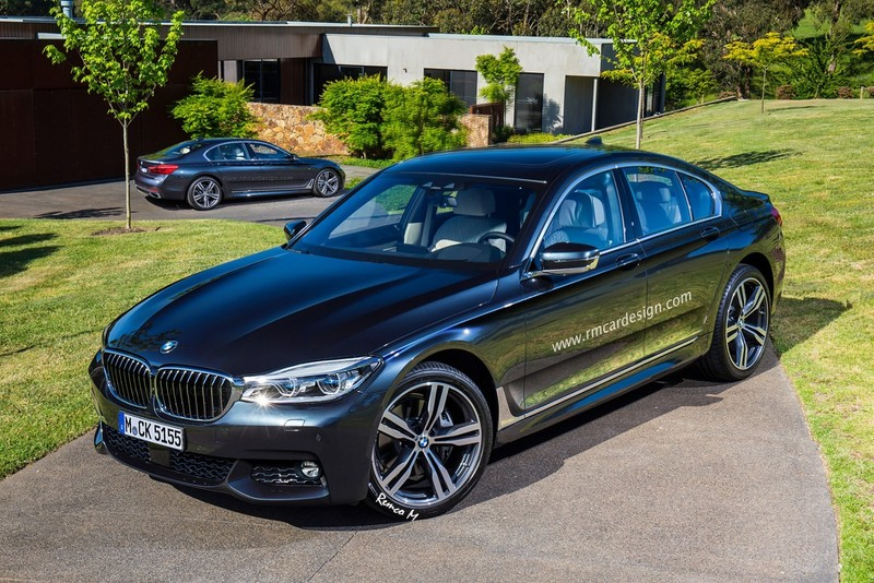 2016 bmw 5 series render looks promising