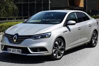 Renault Megane sedan confirmed for 2016 debut