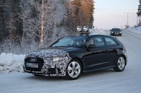 Audi A3 Sportback facelift spy photo